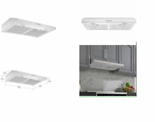 Ancona 30 in Ductless Stainless Steel Undercabinet Range Hood