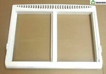 Crisper Drawer Cover Frame Compatible with Frigidaire Refrigerator 240364787