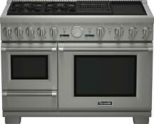 Thermador Pro Grand PRD48NCSGU 48  Pro Style Dual Fuel Range w  Warming Drawer