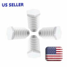 Leveling Feet for Dryer and Washer  Leveling Foot Peg for Whirlpool Kenmore 4pcs