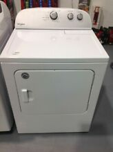 Dryer Electric White 7 0 cu  ft  Whirlpool Only Pickup  WED4815EW