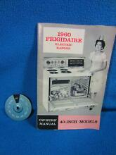 Frigidaire Vintage 60 s Range Oven RCD 71 60 Parts  Switch Indicator Dial Faces