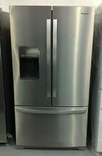 Refrigerator Whirlpool 36 Inch French Door 26 8 cu  ft  WRF757SDHZ00 ONLY PICKUP