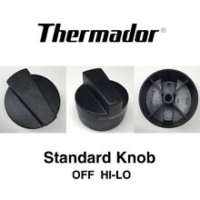 NEW Thermador Range Standard Burner Control Knob  Black  00419035  419035
