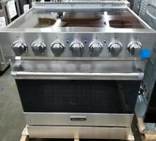VIKING 30  ELECTRIC  RANGE STAINLESS STEEL 5 RADIANT BURNERS GENTLY USED