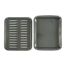 ForeverPRO 5304442087 Broiler Pan And Inser for Frigidaire Wall Oven 00011170
