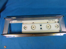 Frigidaire Vintage Imperial Range Oven Parts Control Panel Glass