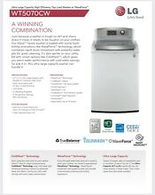 LG Ultra Large Capacity High Efficiency Top Load Washing Machine