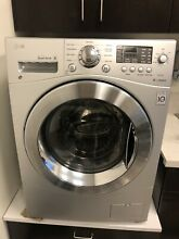 LG 2 3 cu  ft  Silver Compact All In One Front Load Washer Ventless Dryer Combo