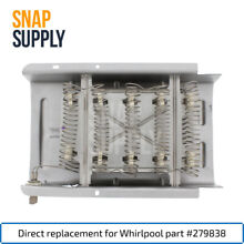 Snap Supply Dryer Heating Element for Whirlpool Directly Replaces 279838