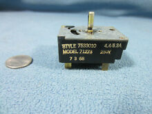 Frigidaire Vintage 60 s Range Parts  Infinite Switch Top Burner 7533010  71273