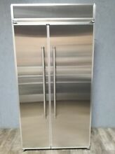 Kitchenaid KBSN602EPA 42  Built In Side by Side Refrigerator  panel ready