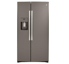GE  36  Counter Depth Side By Side Refrigerator 21 8 Cu  Ft GZS22IMNES