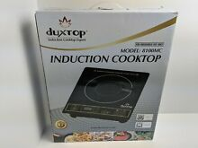 Duxtop Induction Cooktop Model  8100MC  Black Gold   never used  Open Box