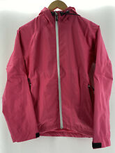 Mier Women s Packable Rain Jacket Pink X Small Hood Mesh Lining Vents Adjustable