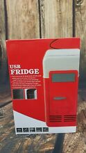 Small Mini USB Cans Fridge Beverage Cooler and Refrigerator USA SELLER New