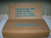 JENN AIR GAS BURNER 801224 WITH GRILL CRATES