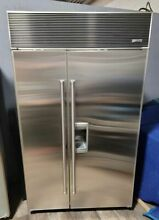 SubZero 48  Refrigerator w  Ice   Water Dispenser Stainless Steel