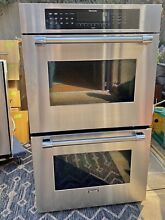 Thermador 30 Inch Stainless Steel  Double  Electric  Flat Front Wall Oven