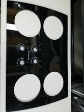 Kitchen aid cooktop black glass top 3192153