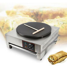 Practical Crepe Maker Griddle Hot Plate Cooktop with Safe Built in Thermostate