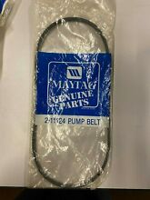 2 11124 MAYTAG BELT NEW 211124 ONLY 1 BELT IN PACKAGE FREE FIRST CLASS SHIPPING