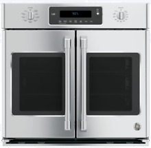 GE 30  Stainless Steel Smart Single French Door Electric Wall Oven CT9070SHSS