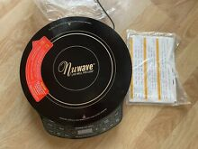 Nuwave Precision Induction Cooktop Gold   Hot Plate   Model  30201  NEW W DVD