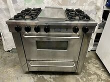 FiveStar 36in Pro Gas Range with 4 Burners and Griddle