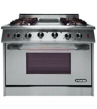 NXR Pro Style Gas Range 36  6 Burners DRGB3602 See Xtra Discount