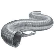 NEW LAMBRO 3120L 4  X 8 FOOT ALUMINUM FLEX DUCT PIPE DRYER HOSE WITH CLAMPS