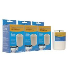 WATER SENTINAL REPLACES GE SMART WATER MWF REFRIGERATOR FILTER CARTRIDGE  3 Pack