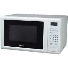 Magic Chef Mcm1110W 1 1 Cubic Ft  1 000 Watt Microwave With Digital Touch  White