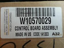 BRAND NEW Whirlpool Stainless Steel Double Wall Oven UI Panel Control W10570029