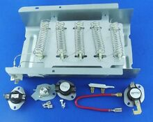 Dryer Heating Element 279838   Thermostat Kit  279816  3392519  3387134  3977767
