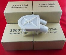 Whirlpool Kenmore Washer Washing Machine Water Pump for 3363394 New 6 Pack