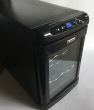 Kenmore Thermoelectric 6 Bottle Capacity Wine Cellar Refrigerator Cooler  Black