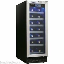 12  BUILT IN SINGLE ZONE Undercounter Danby Wine Cooler Cellar STAINLESS STEEL