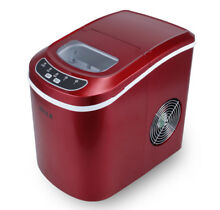 NEW Portable Ice Cube Maker Countertop 26 lb day Machine ETL CSA UL Listed  Red