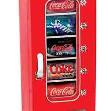 Cool Beverage Can Dispenser Storage Refrigerator Soda Holder Beer Coke Organizer