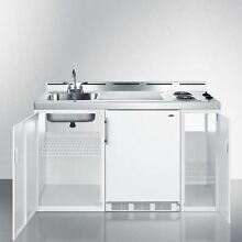 60  Wide All In One Kitchenette   White Model C60EL