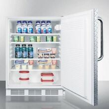 Medical Summit NSF Compliant Built in ADA Counter Height Refrigerator FF7LDPLADA