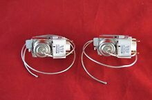 WR9X491 Refrigerator Cold Control Thermostat replaces GE Kenmore  WR9X545 2 Pack