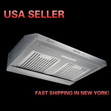 CYBER  30 Classic Designs Seamless Steel Under Cabinet Range Hood 1200CFM POWER