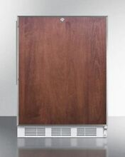 Built in refrigerator freezer in ADA counter height   Medical Use Only