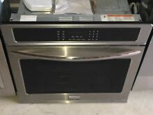 Frigidaire Stainless 30  Electric Single Self Clean Wall Oven ADA FGEW3065PF