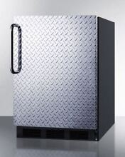 Freestanding Residential Use Refrigerator Freezer    Stainless Steel