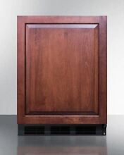 Summit Counter Height General ADA All Refrigerator  Wood