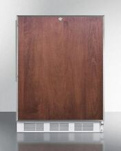 Medical NSF Compliant Built in ADA Under Counter Refrigerator  Wood FF7LBIFRADA
