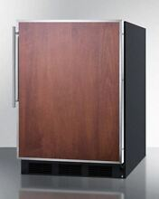 Built In Undercounter All Refrigerator General use Black FF63BBIFR